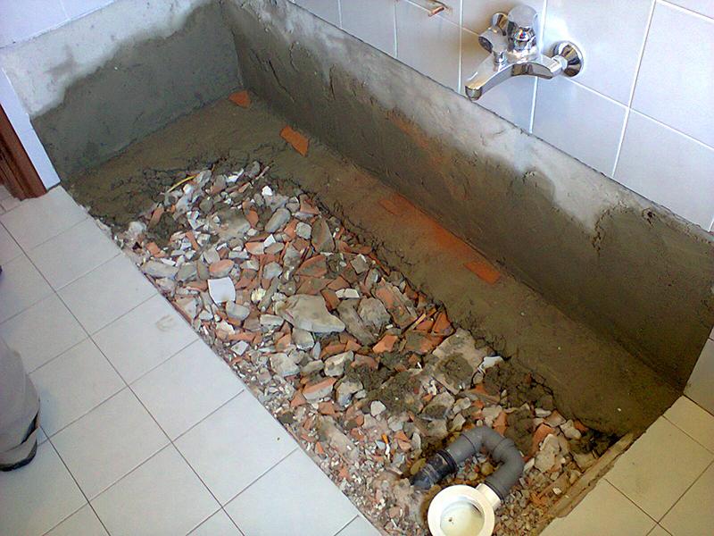 Trasformazione vasca da bagno in doccia trasformazione vasche da bagno in doccia milano for Togliere vasca da bagno e mettere doccia