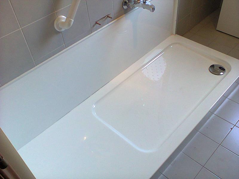 Trasformazione vasca da bagno in doccia trasformazione vasche da bagno in doccia milano - Verniciare vasca da bagno ...
